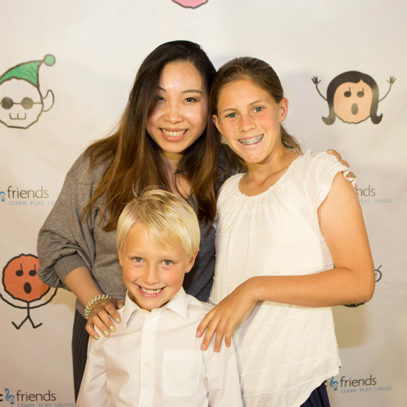 The Method of KC & Friends teaches music and piano to kids in a fun and engaging way.